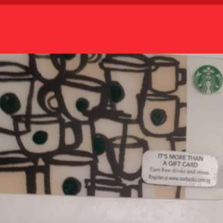 Starbucks card for collectibles