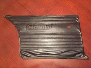 Original 68 Charger Left Rear Door Panel