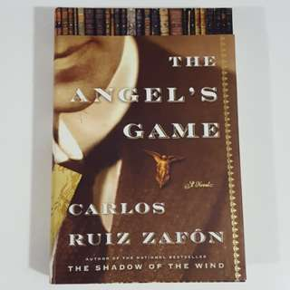 The Angel's Game by Carlos Ruiz Zafón [Hardcover]