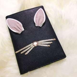 mina女孩日本代購 美國 kate spade 兔子系列 護照套 護照夾