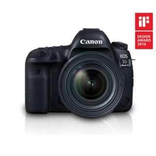 Canon EOS 5D Mark IV Kit (EF 24 - 70 F4 L IS USM) BNIB