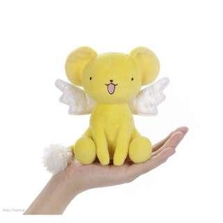 mina女孩日本代購 庫洛魔法使 小櫻 小可 可魯貝洛斯 娃娃 新品