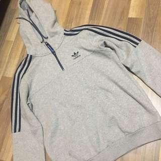 Grey Adidas Originals Hoodie