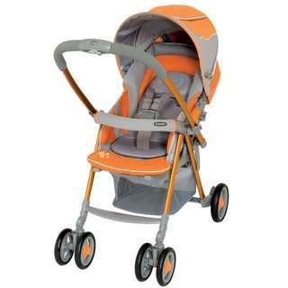 Reduced: Orange Combi Sporty Urban Walker Stroller