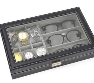Watch Box with Spectacles storage slots