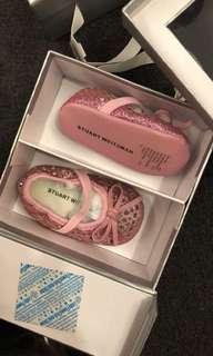 Auth Stuart Weitzman Baby Shoes