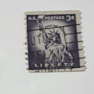 USA- Liberty stamp