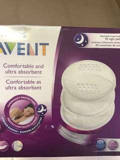 Avent Night 20 BreastPads
