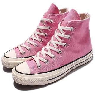 Converse 1970s 粉紅高筒 三星標