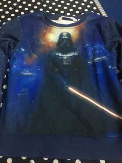 h&m star wars 4 - 6 yrs old pull over