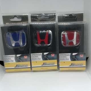 HONDA LOGO STEERING - blue, black or red
