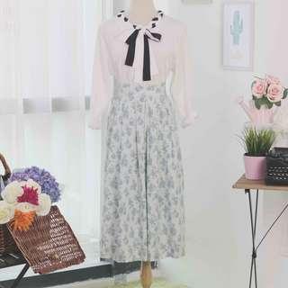 🍿 Vintage Midi Skirt VS1073
