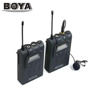 BOYA BY-WM6 UHF Wireless Lavalier Microphone System