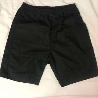 Men's short pants (Black)