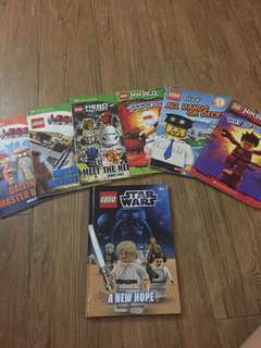 LEGO books collection