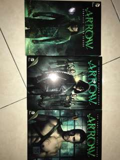 Green Arrow TV-Series Season 1,2,3