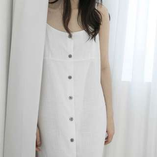 🚚 #nude排釦洋裝