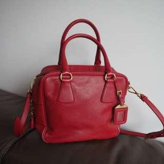 Prada leather bag 正貨