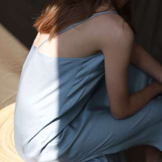 🚚 #nude細肩帶洋裝