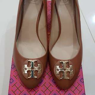 Toryburch shoes luna wedges