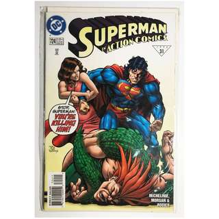 Superman In Action DC Comics