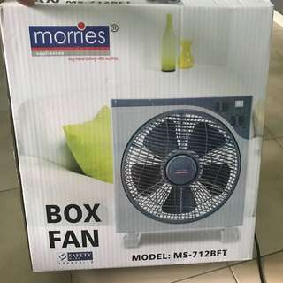 Can nego abit for fast deal. morries Box Fan