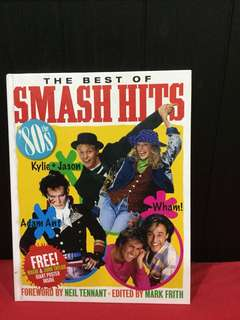 The Best of Smash Hits hardcover book
