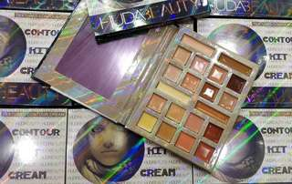 Huda Contour Kit Cream Palette
