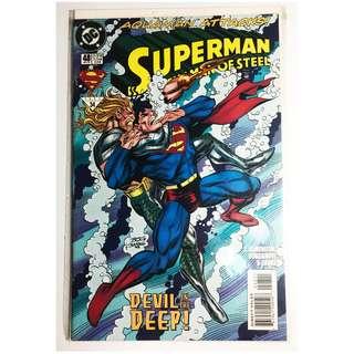 Superman The Man Of Steel DC Comics