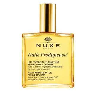 NUXE HUILE PRODIGIEUSE, DRY OIL 100 ML