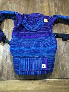 Tula HW half toddler WC Erizo Sine Timore Royal weft