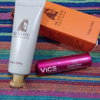 Vice Good Vibes Lipstick and Holika Holika Bundle