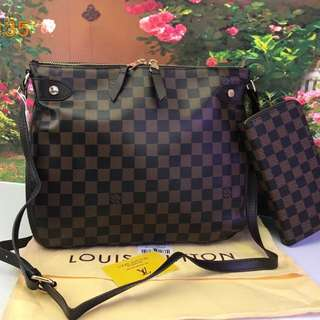 LOUIS.V Bag 2 in 1 Bag & Vallet