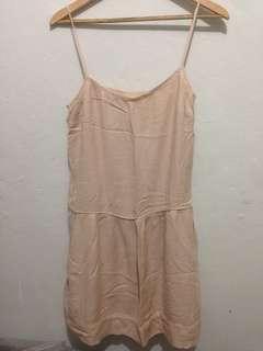 MANGO - NUDE PINK DRESS