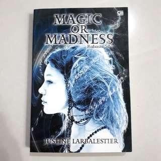 Buku novel: Magic or Madness