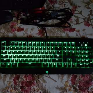 Razer Blackwidow Ultimate Stealth (Silent Orange keys)