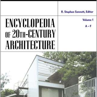 20th Century Architecture Encyclopedia