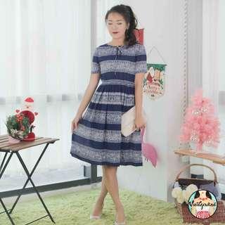 🍿 Vintage Midi Dress VD917