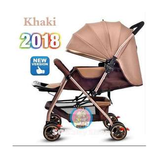 💯2018Brand New German design Light weight Aluminum baby stroller/pram/limited stock/good quality