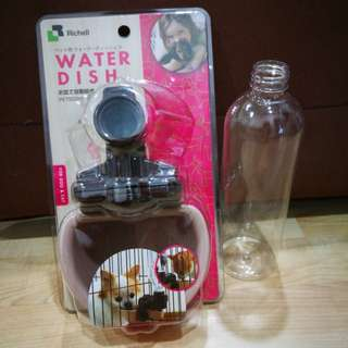 Richell Water Dish with Free Bottle