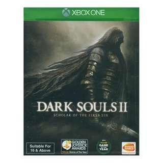 Xboxone Dark Souls II: Scholar of the First Sin