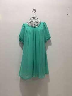 ♥️Tiffany Green Dress 141