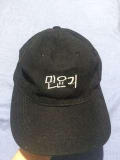 BTS Min Yoongi cap