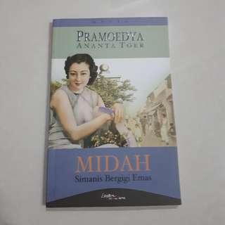 Buku novel sastra: Midah, Si Manis Bergigi Emas