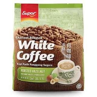Super 3 in 1 Roasted Hazelnut White Coffee