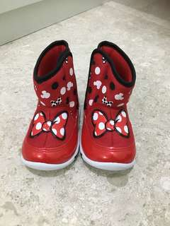 Brand new BN Minnie Mouse Disney shoes boots not melissa