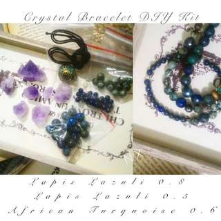♥ All Natural Crystal Bracelet DIY Kit ♥