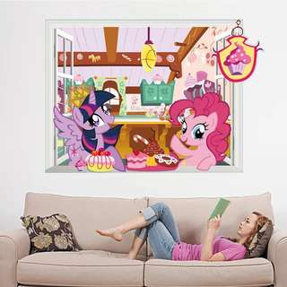 MLP My Little Pony Wall decal/ wall stickers/ home deco