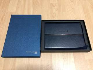 Stanchart Priority Banking Leather Folder