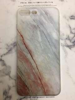 iPhone 7plus 8plus 電話套 手機殼 雲石紋 大理石紋 文青 小清新